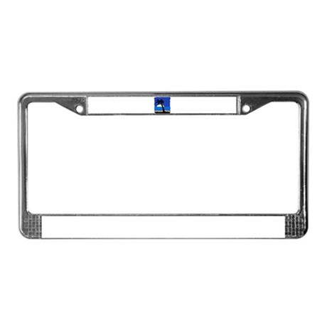 Palm License Plate Frame