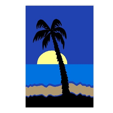 Palm Postcards (Package of 8)