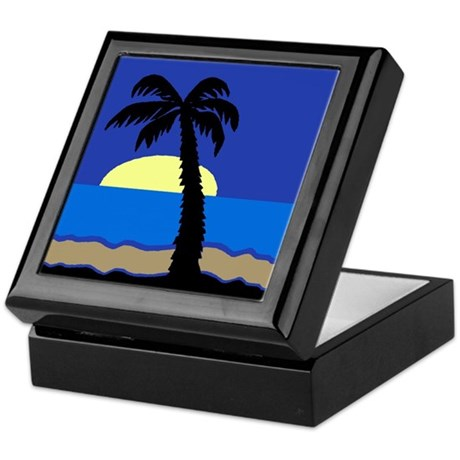 Palm Keepsake Box