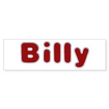 Billy Santa Fur Bumper Bumper Sticker