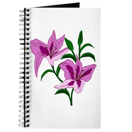 Pink Lilies Journal