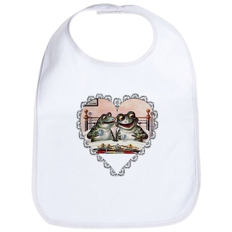 Frog Couple Bib
