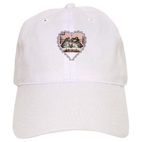 Frog Couple Cap