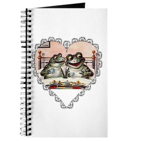 Frog Couple Journal