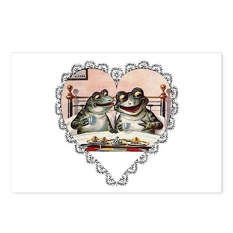 Frog Couple Postcards (Package of 8)