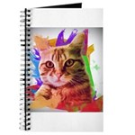 Colorful Cat Journal