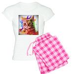 Colorful Cat Women's Light Pajamas