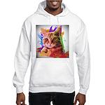 Colorful Cat Hooded Sweatshirt