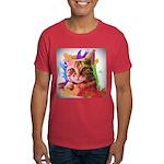 Colorful Cat Dark T-Shirt