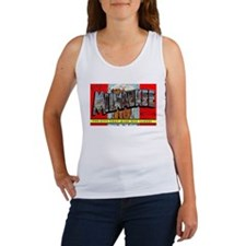Milwaukee Wisconsin Greetings Women's Tank Top