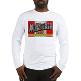 Milwaukee Wisconsin Greetings (Front) Long Sleeve