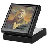 """The Lion of Judah"" Fine Art Gift Box"