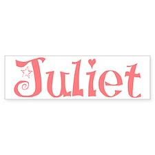 Juliet Bumper Car Sticker