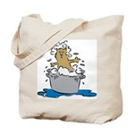 Cat Bath II Tote Bag