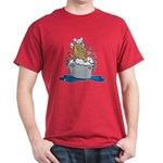 Cat Bath II Dark T-Shirt