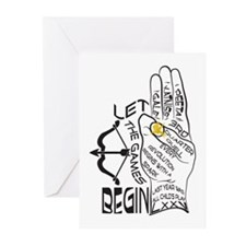 Three Finger Salute Greeting Cards (Pk of 20)
