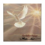 """Our Fathers Promise"" Fine Art Tile Coaster"
