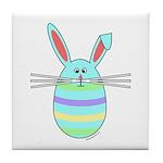 Easter Egg Bunny Tile Coaster