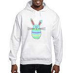 Easter Egg Bunny Hooded Sweatshirt