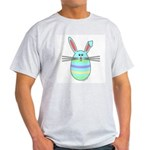 Easter Egg Bunny Ash Grey T-Shirt