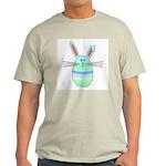Easter Egg Bunny Ash Grey T-Shirt