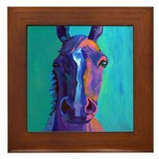 Crazy Horse Framed Tile