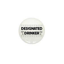 Designated Drinker Mini Button (100 pack)