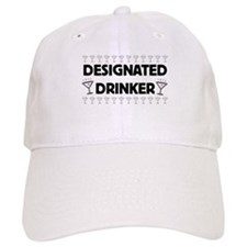 Designated Drinker Baseball Cap