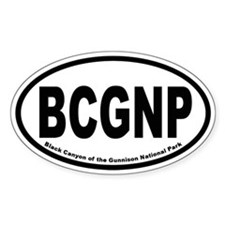 Black Canyon of the Gunnison National Park Decal