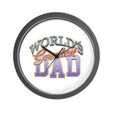 Classic World's Greatest Dad Wall Clock