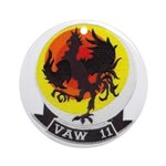 VAW 11 Early Elevens' Ornament (Round)