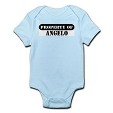 Property of Angelo Infant Bodysuit