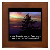 True Traveler Framed Tile