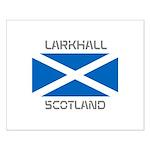 Larkhall Scotland Small Poster