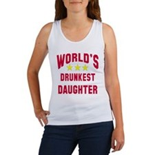 World's Drunkest Daughter Women's Tank Top