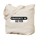 Property of Alvin Tote Bag