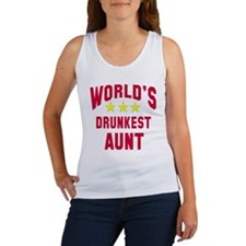 World's Drunkest Aunt Women's Tank Top