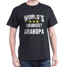 World's Drunkest Grandpa T-Shirt