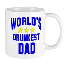 World's Drunkest Dad Mug