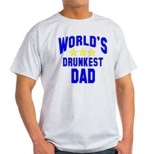 World's Drunkest Dad T-Shirt