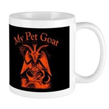 My Pet Goat Dark Mug