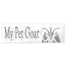 My Pet Goat Bumper Sticker (10 pk)