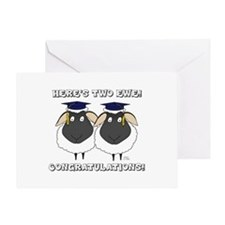 Here's Two Ewe, Congratulations Greeting Card