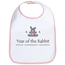 """Year of the Rabbit"" Bib"