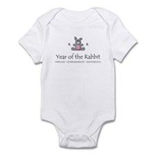 """Year of the Rabbit"" Onesie"