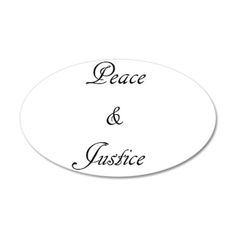 Peace and Justice Wall Decal