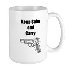 Keep calm and carry Mug