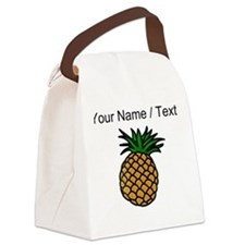Custom Pineapple Canvas Lunch Bag