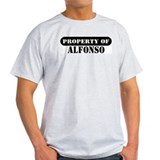 Property of Alfonso Ash Grey T-Shirt