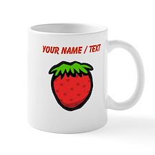 Custom Strawberry Cartoon Mugs